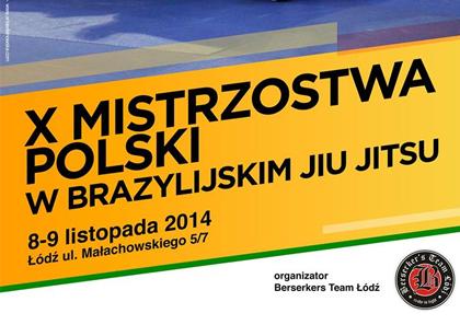 X Mistrzostwa Polski BJJ