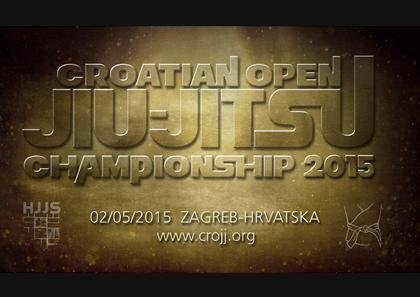 Croatian Jiu Jitsu Championship Open 2015